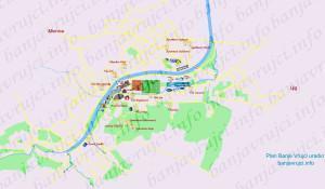 banja vrujci mapa